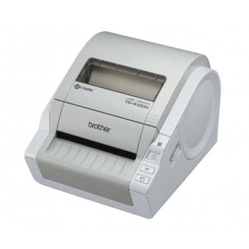 Brother TD-4100N impresora de etiquetas Térmica directa 300 x 300 DPI