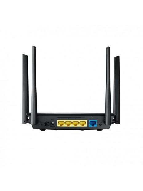 ASUS RT-AC58U V2 router inalámbrico Doble banda (2,4 GHz   5 GHz) Gigabit Ethernet Negro