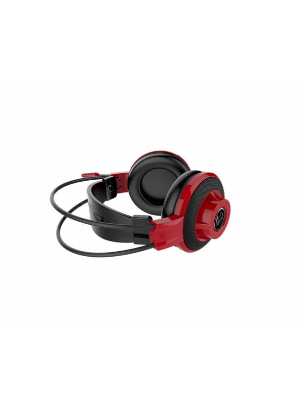 MSI DS501 Auriculares Diadema Negro, Rojo