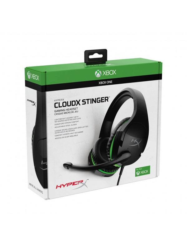 HyperX CloudX Stinger Auriculares Diadema Negro, Verde