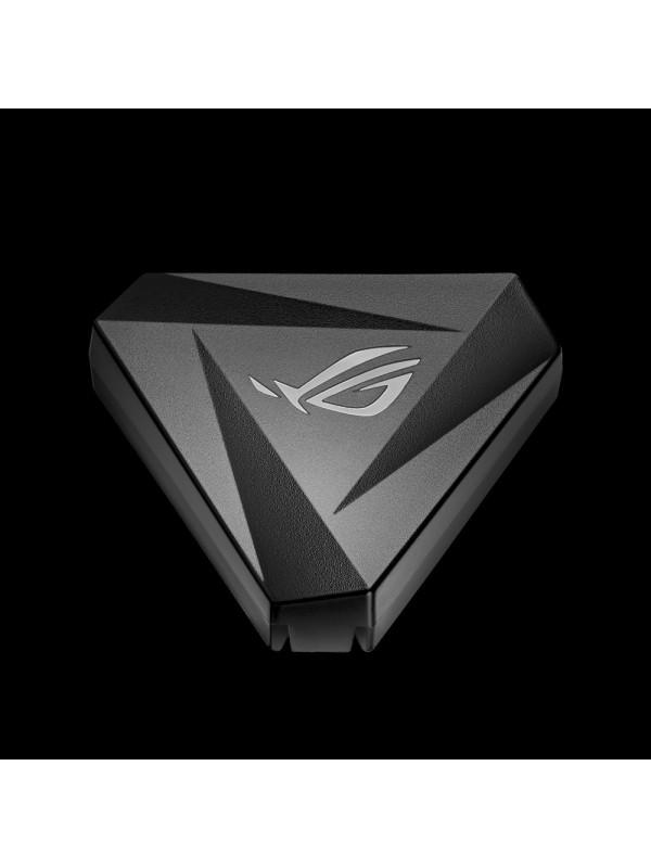 ASUS ROG Pugio II ratón RF Wireless+Bluetooth+USB Type-A Óptico 16000 DPI Ambidextro