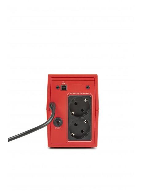Salicru SPS SOHO+ SAI Line-interactive 500 VA - 2200 VA con doble cargador USB