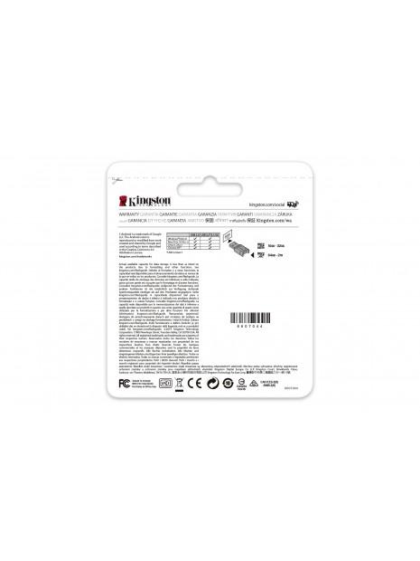 Kingston Technology Canvas React Plus memoria flash 128 GB MicroSD Clase 10 UHS-II