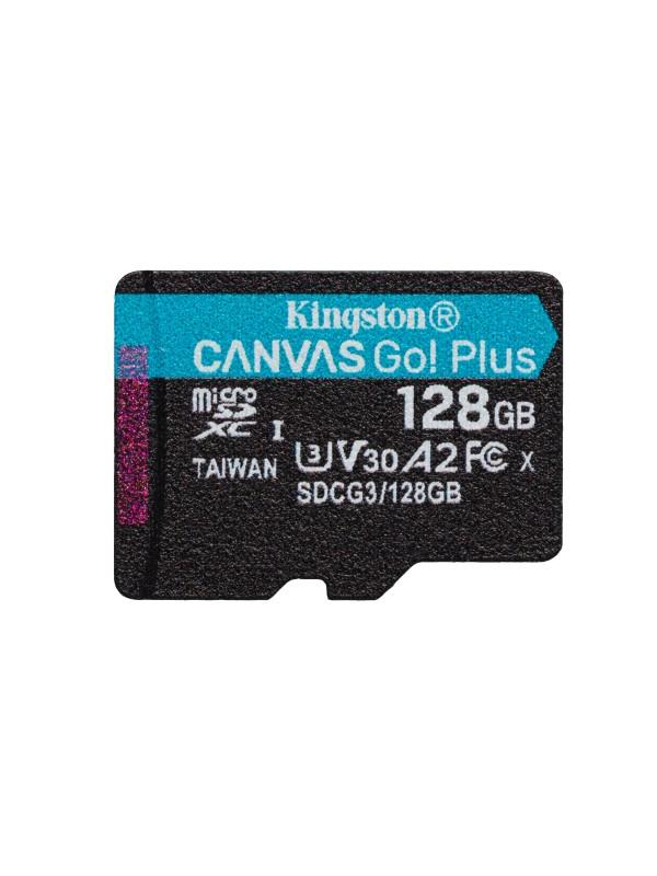 Kingston Technology Canvas Go! Plus memoria flash 128 GB MicroSD Clase 10 UHS-I