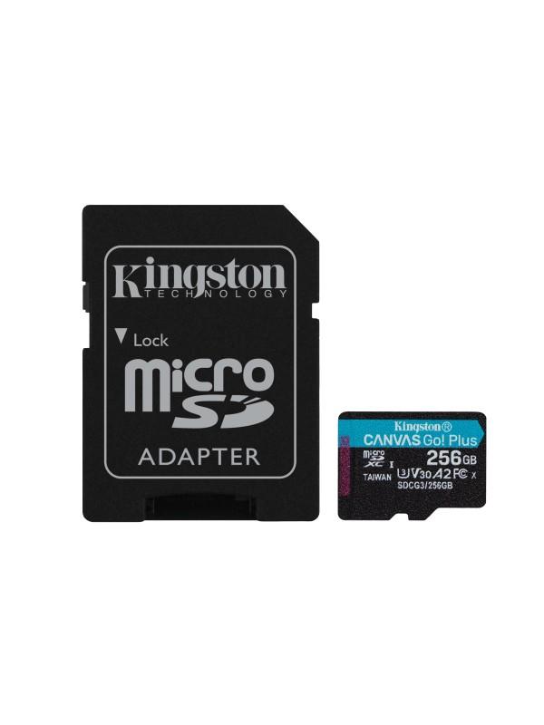 Kingston Technology Canvas Go! Plus memoria flash 256 GB SD Clase 10 UHS-I