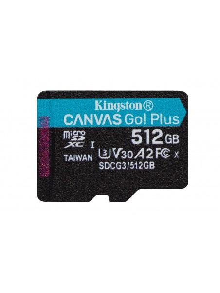 Kingston Technology Canvas Go! Plus memoria flash 512 GB MicroSD Clase 10 UHS-I