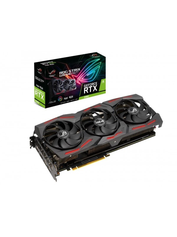 ASUS ROG -STRIX-RTX2060-A6G-EVO-GAMING NVIDIA GeForce RTX 2060 6 GB GDDR6