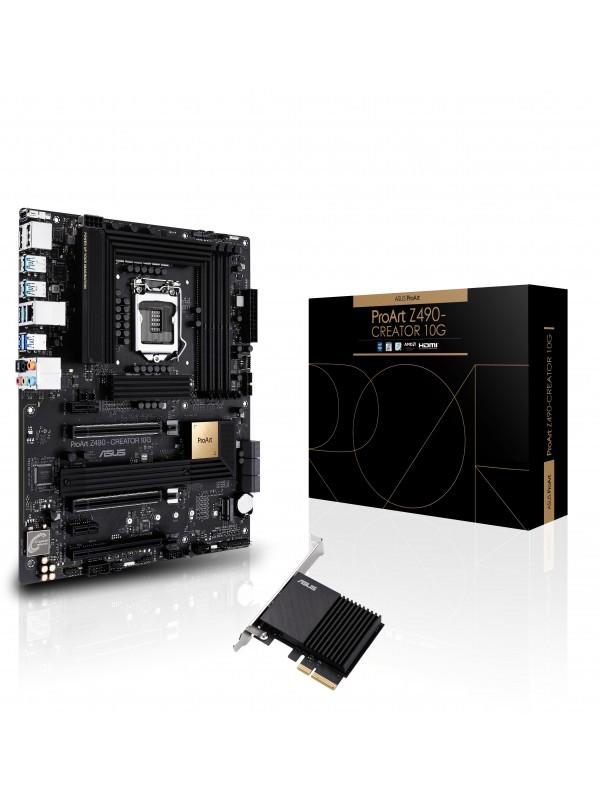 ASUS ProArt Z490-CREATOR 10G LGA 1200 ATX Intel Z490
