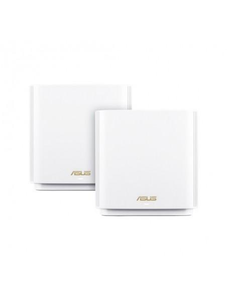 ASUS ZenWiFi AX (XT8) router inalámbrico Tribanda (2,4 GHz 5 GHz 5 GHz) Gigabit Ethernet Blanco