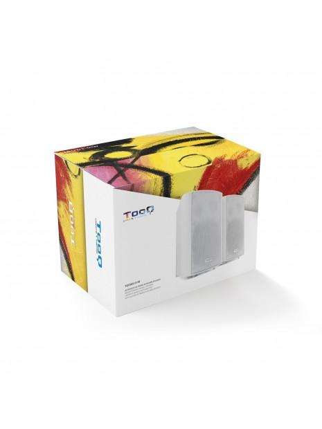 TooQ TQOWS-01W Altavoces autoamplificados de pared