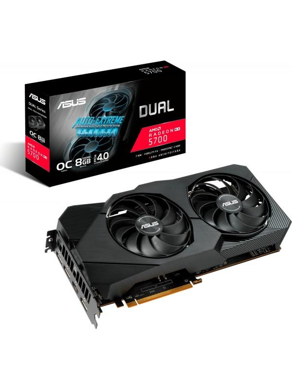 ASUS Dual -RX5700XT-O8G-EVO AMD Radeon RX 5700 XT 8 GB GDDR6