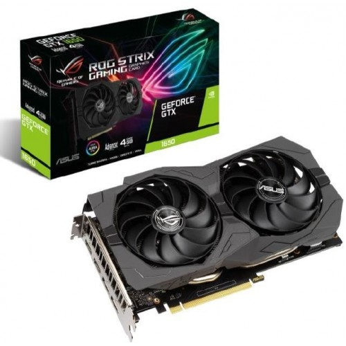 ASUS ROG -STRIX-GTX1650-A4GD6-GAMING NVIDIA GeForce GTX 1650 4 GB GDDR6