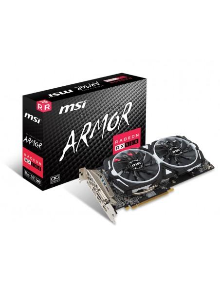MSI RX 580 ARMOR 8G OC AMD Radeon RX 580 8 GB GDDR5