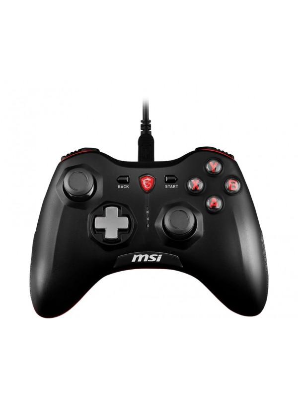 MSI Force GC20 Palanca de mando Android, PC Analógico Digital USB 2.0 Negro