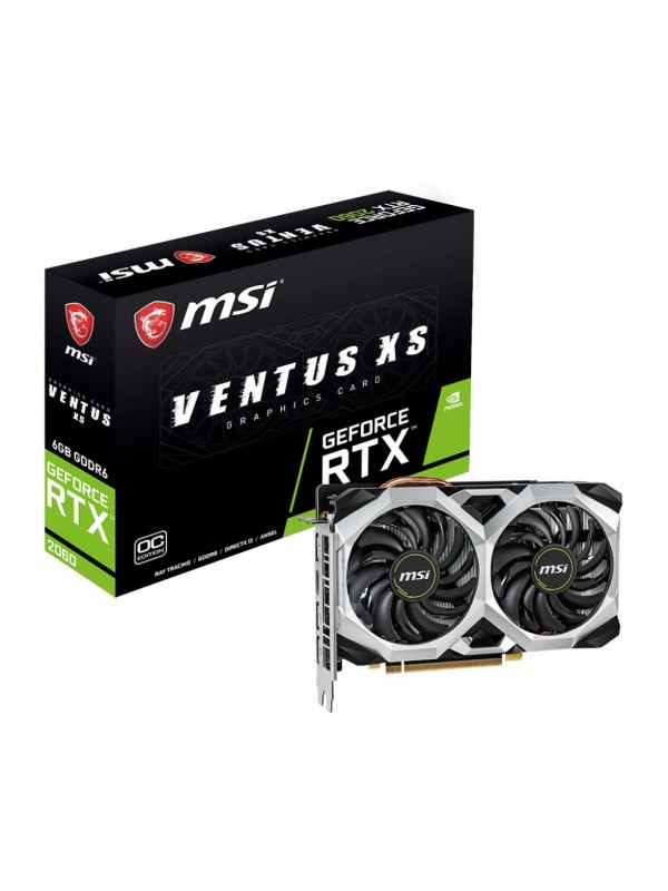 MSI 912-V375-034 tarjeta gráfica NVIDIA GeForce RTX 2060 6 GB GDDR6