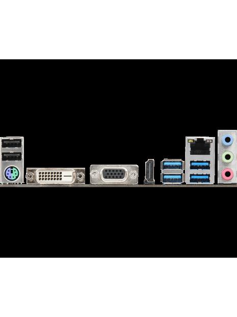 ASROCK A320M-HDV R4.0 conectores