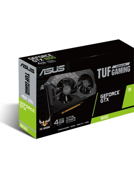 ASUS TUF Gaming TUF-GTX1650-4GD6-P-GAMING NVIDIA GeForce GTX 1650 4 GB GDDR6