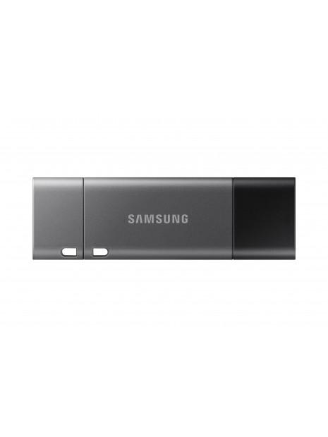 Samsung MUF-128DB unidad flash USB 128 GB USB Type-A   USB Type-C 3.2 Gen 1 (3.1 Gen 1) Negro, Plata