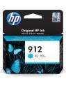 HP 912 1 pieza(s) Original Rendimiento estándar Cian