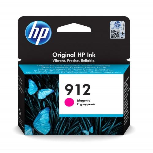HP 912 1 pieza(s) Original Rendimiento estándar Magenta