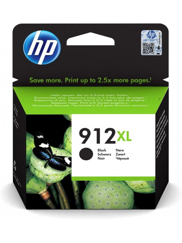 HP 912 1 pieza(s) Original Alto rendimiento (XL) Negro