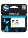 HP 912 1 pieza(s) Original Rendimiento estándar Amarillo