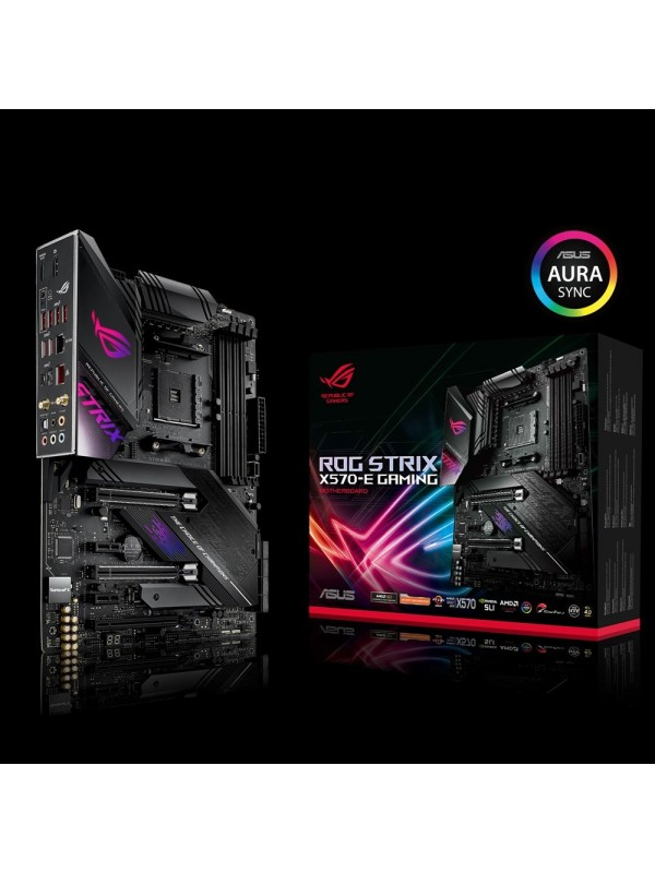 ASUS ROG Strix X570-E Gaming Zócalo AM4 ATX AMD X570