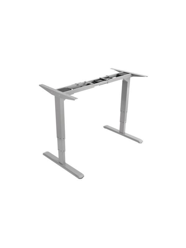 Equip 650803 estructura regulable para escritorio Eléctrico 2 pata(s) Gris